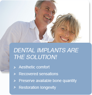 Dental implants are the solution